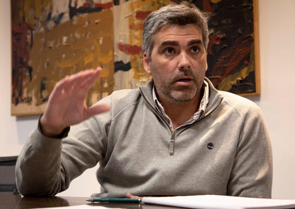 Nicolás Mantiñán, director de obra Car One.